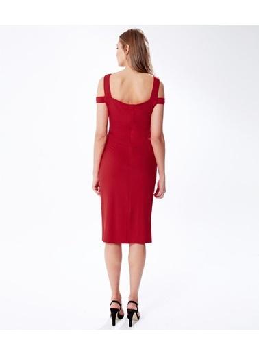 Hooyo Hamile Elbisesi Kırmızı